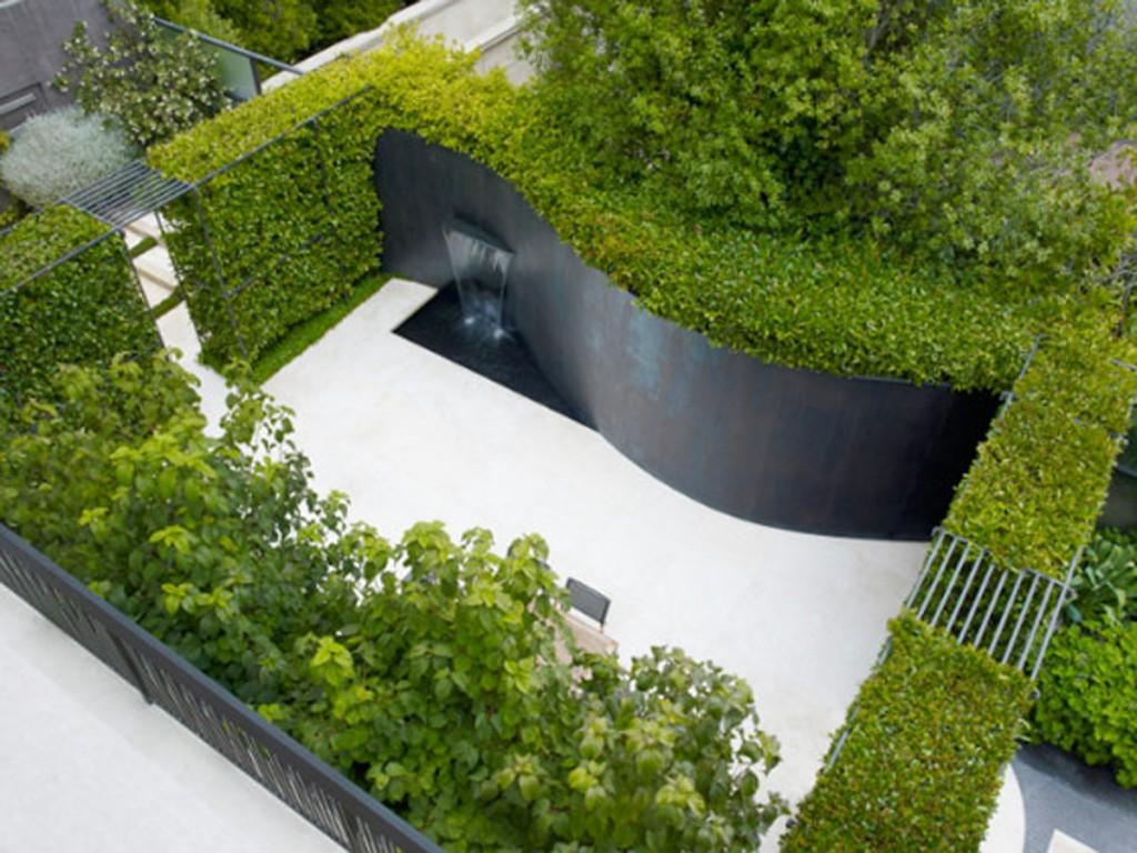Le jardin contemporain le paysagiste for Paysagiste jardin