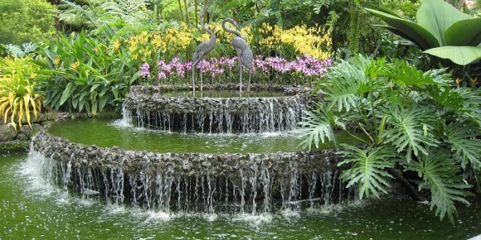 Decorer son jardin avec une fontaine