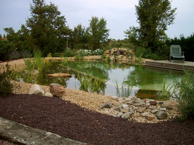 Amenagement piscine naturellele paysagiste for Prix piscine biologique