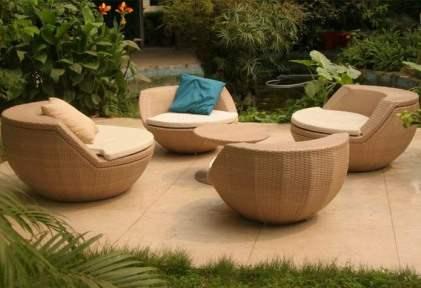Nos meilleures id es de mobiliers de jardin le paysagiste for Meuble en rotin exterieur