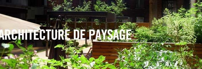 Reconnaissance de l 39 excellence en architecture de paysage for Architecte paysagiste prix