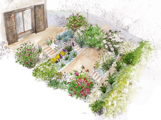 Conseils pour cr er un jardin tendance en 2013 - Creer un jardin contemporain ...