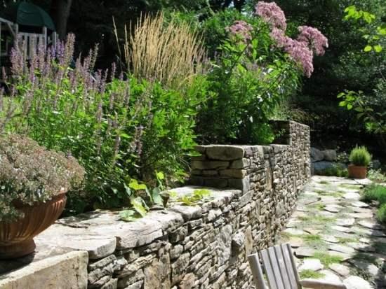 construction de muret pour jardin pictures to pin on pinterest
