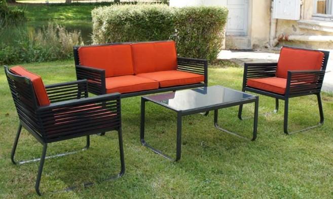 Salon De Jardin Moderne. Top Ensemble Chaises Et Table Extrieur ...