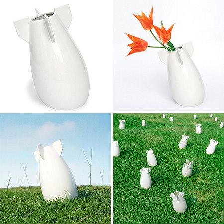 vase bombe