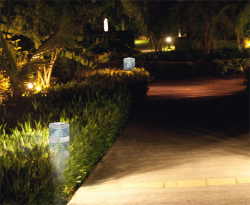 Eclairage borne LED