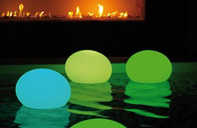 lampes LED pour piscine