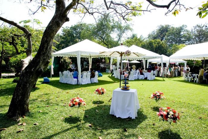 mariage jardin