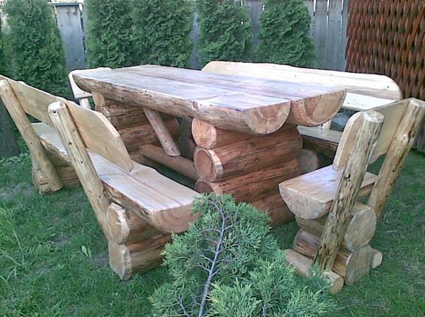 r cup rer des rondins de bois oui mais pour en faire quoi le - Table De Jardin En Rondin De Bois