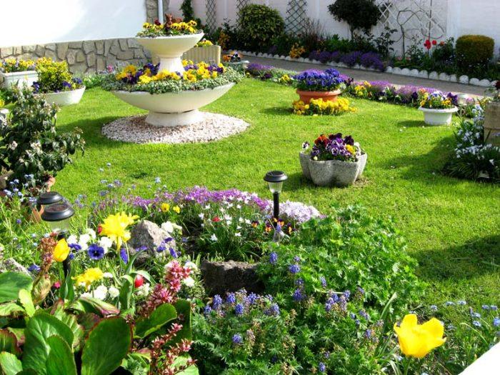 Embellir l\'extérieur de la maison avec un jardin d\'ornementLe ...