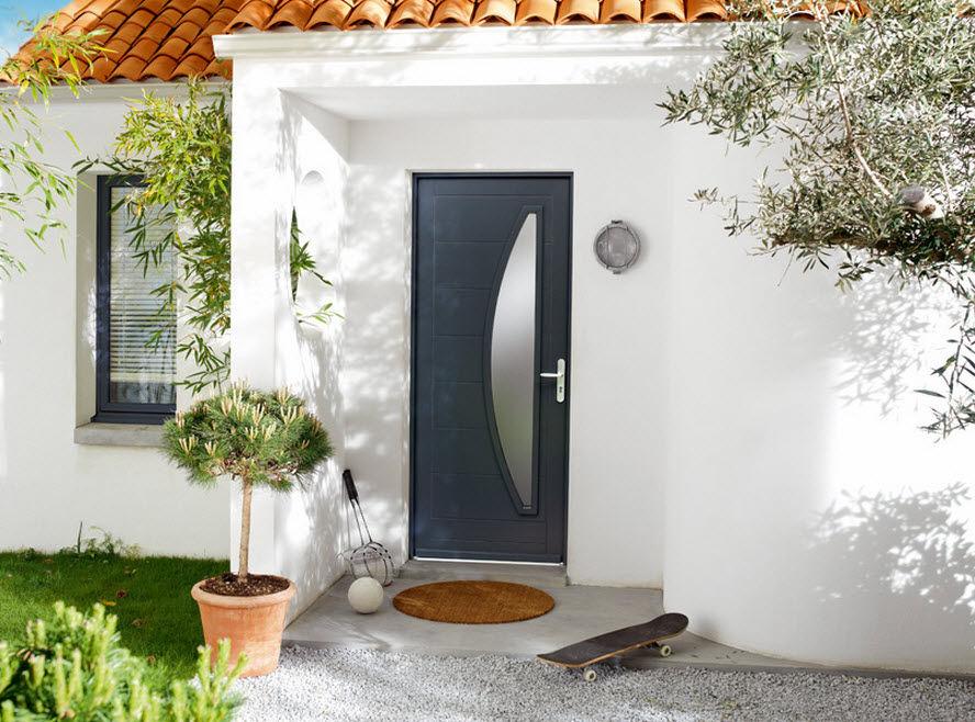 porte d entree semi vitree 1835 2117011le paysagiste. Black Bedroom Furniture Sets. Home Design Ideas