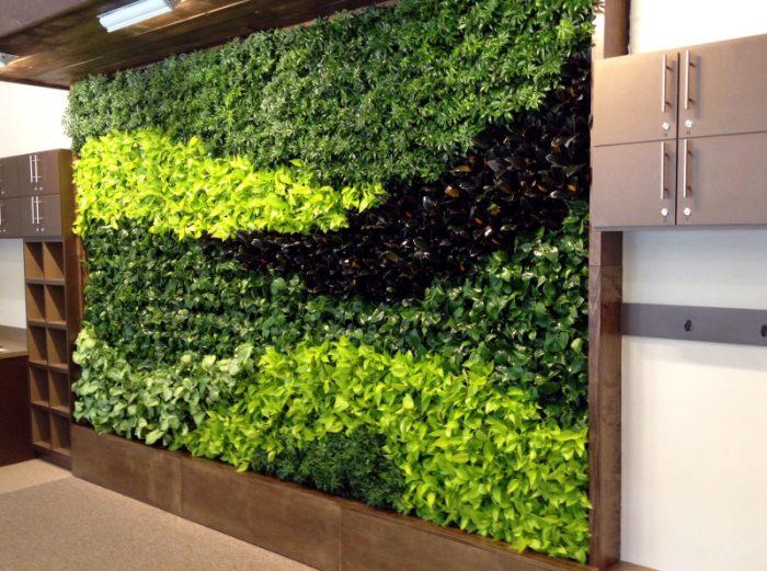 Un mur v g tal pour embellir le jardin le paysagiste for Mur vegetal exterieur en kit
