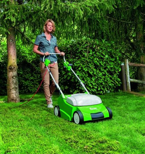 Un scarificateur électrique pour les petits jardins