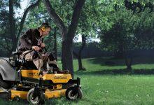 La plus grande précision avec la tondeuse braquage zéro pour l'entretien de son jardin