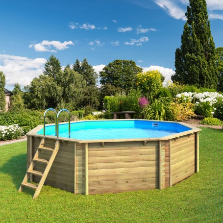 piscine hors sol en bois