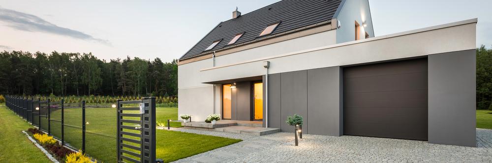 Une clôture moderne et originale