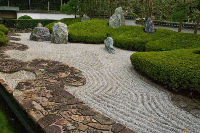 comment faire un jardin ext rieur zen le paysagiste. Black Bedroom Furniture Sets. Home Design Ideas