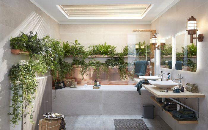 Un bain de plantes
