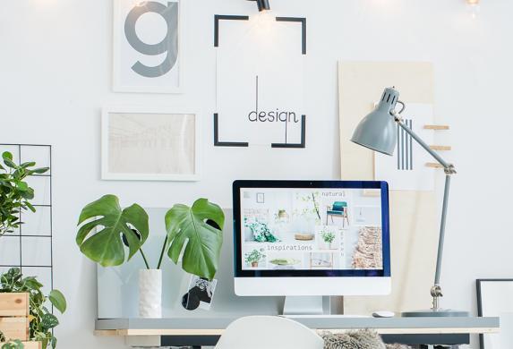 entourez votre bureau d'une végétation luxuriante