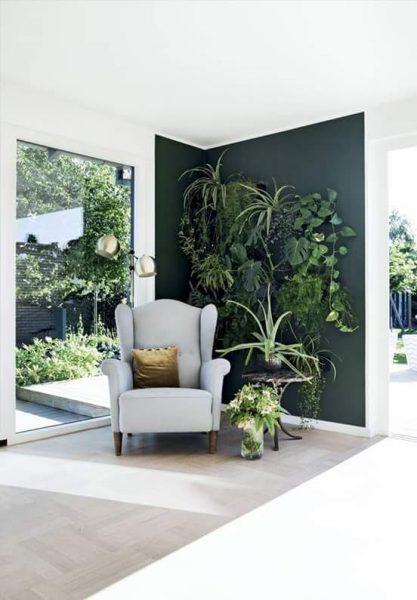 forêt à l'intérieur de votre maison