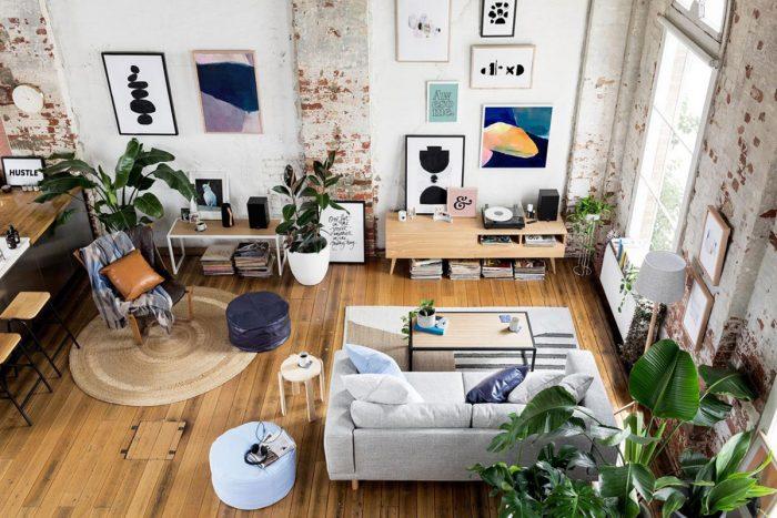 décorer la maison avec des plantes d'intérieur