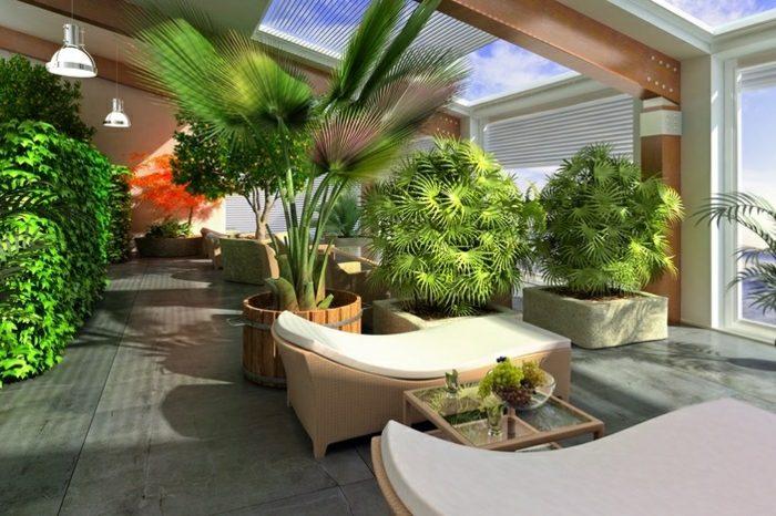 intérêt de créer un espace vert en intérieur