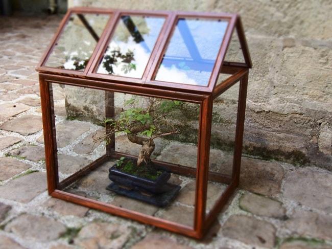 Fabriquer une mini serre avec des cadres